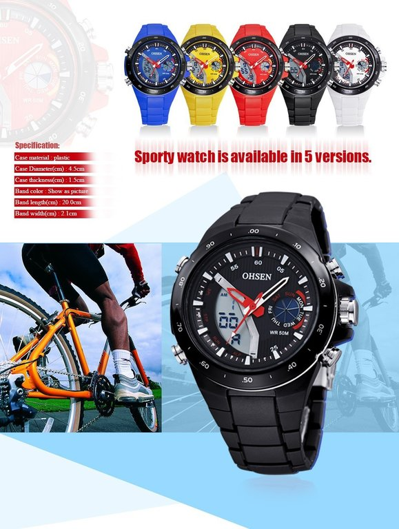 ohsen watch ad0930 manual instruction