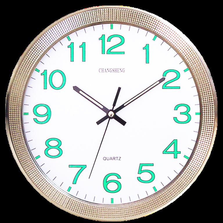 2c2552f6e3d Orologio da Parete al Quarzo Silenzioso e Luminoso - CursOnline®