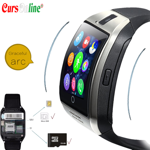 New WatchPhone With Graceful Arc Sim Bt NFC Micro SD Card Ios Android