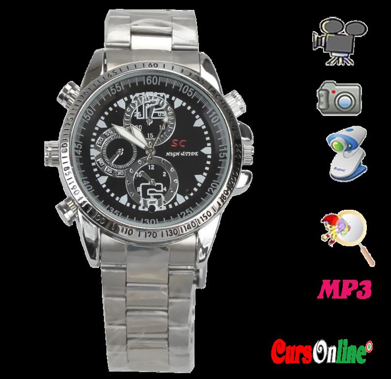 HP/DVR Watch Spy Camera HD Video Recorder - CursOnline® Watch