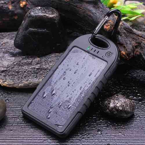 Sport Power Bank Solare USB Water Resist