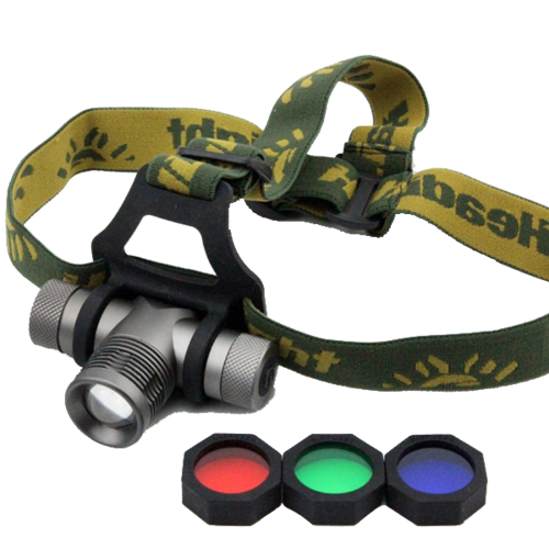 Led Q5 Headlamp Zoomable for Camping,Fishing..BL-K9