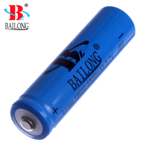 Bailong 18650 Recharg. Battery for FlashLight 8800mAh