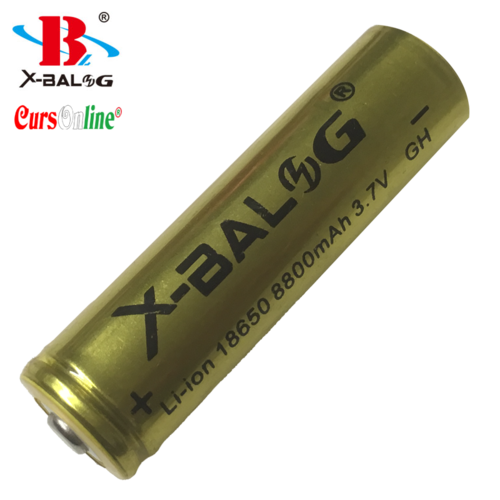 Gold Quality X-BALOG 18650 Recharg. Battery 8800mAh 3.7V