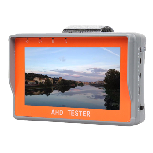 "Portable Video Tester Monitor display 4.3"" AHD e CCD Camera Detector"