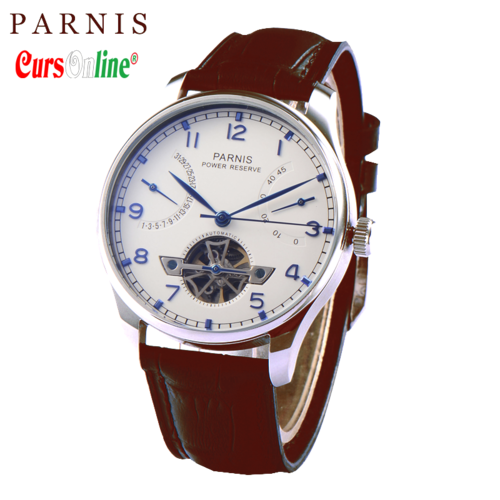 Men Classic Parnis Power Reserve Automatic Watch PN809-1