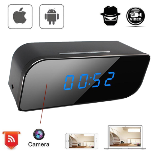 MicroSpia WiFi HD da Scrivania Audio Video Motion Detection