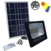 25W Flood Light With Solar Panel and Remote Control