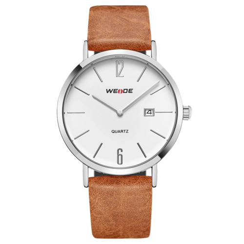 Weide Watch WD007 Japan Quartz Movement EPSON AL32 Silver