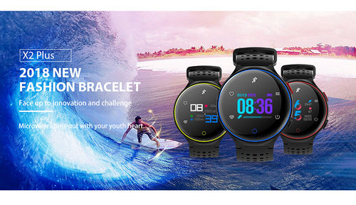 Smart Watch X2 IP68 Blood Pressure Oxygen Heart Rate Monitor