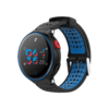 Smart Watch X2 IP68 Battito Cardiaco Fitness e Notifiche Ios/Android Blu