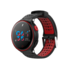 Smart Watch X2 IP68 Battito Cardiaco Fitness e Notifiche Ios/Android Rosso
